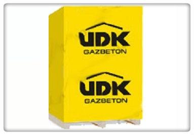купить газоблоки (газобетон) UDK, цена в Киеве